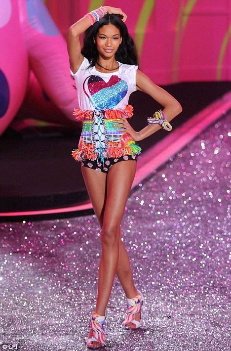 Iman Chanel Victoria Secret Model 2021