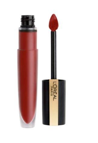 L'Oréal Paris Make Up Rouge Signature, Long Lasting Liquid Lipstick, Matte Effect