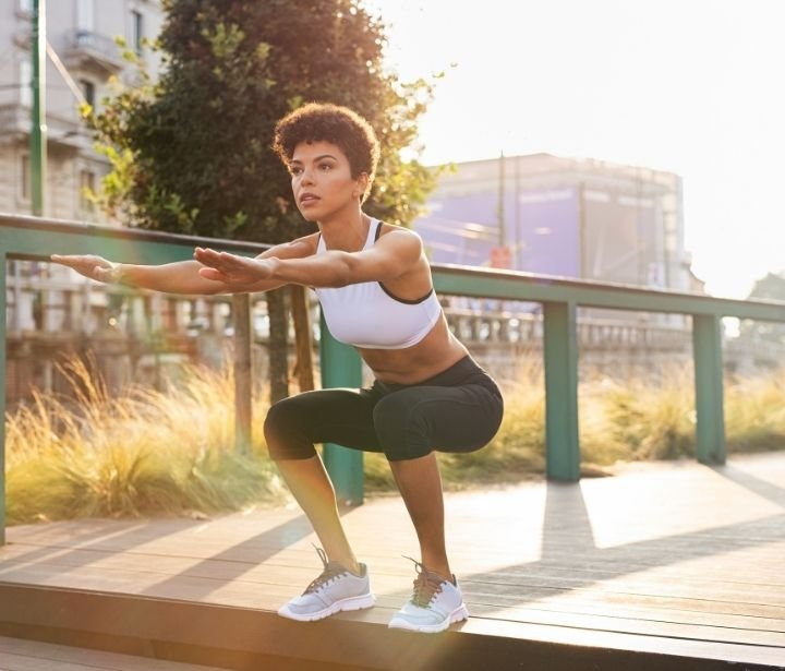 Squats exercise to lose weight