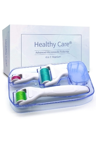 4 in 1 Derma Roller Kit By Healthy Care Store