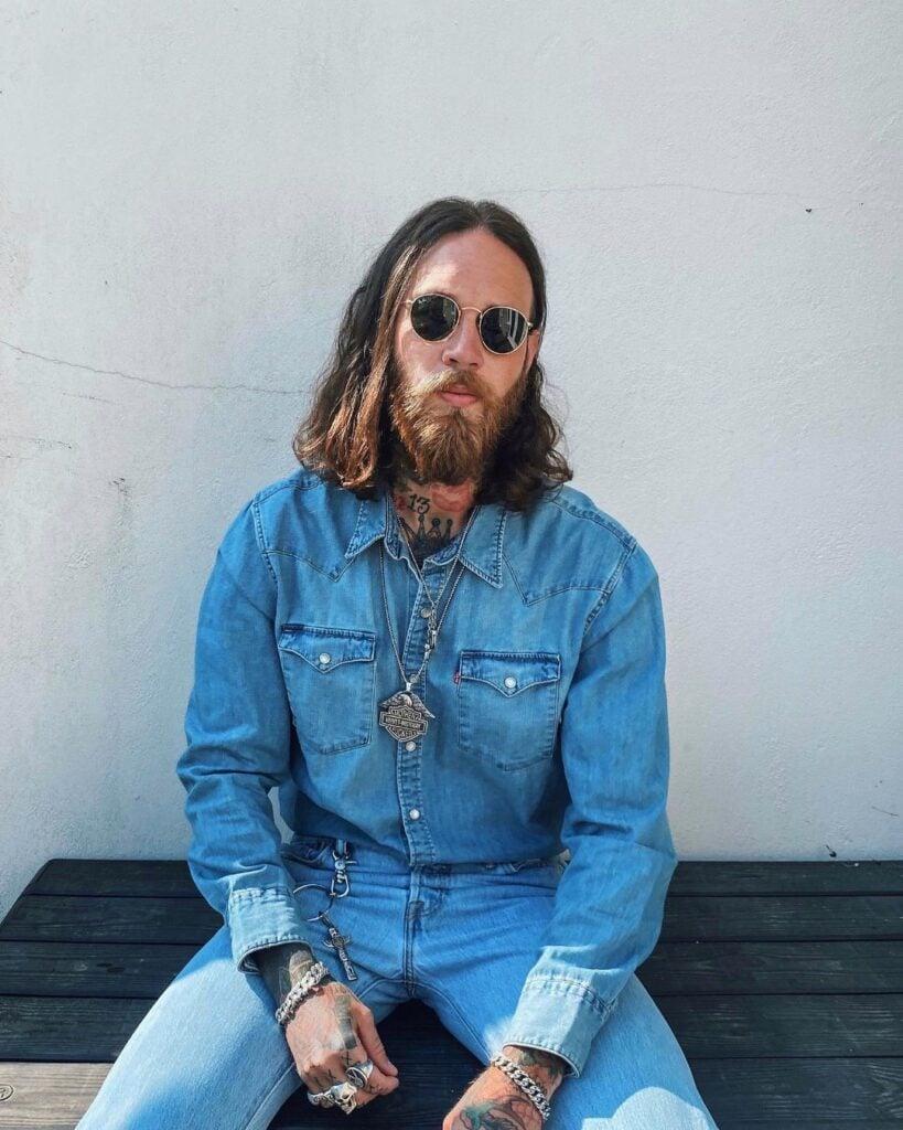Billy Huxley Male Model