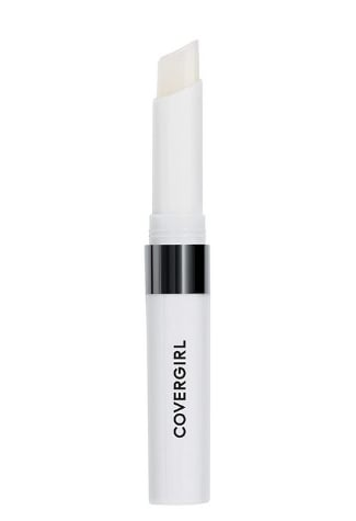 Covergirl Outlast All-day Moisturizing Lip Color, Clear Top Coat, Pak of 2