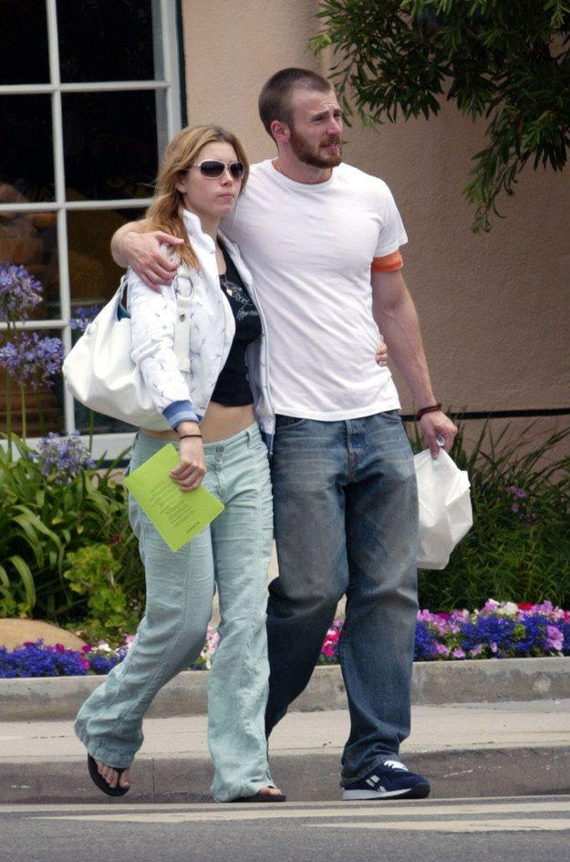 Jessica Biel Dating Chris Evans