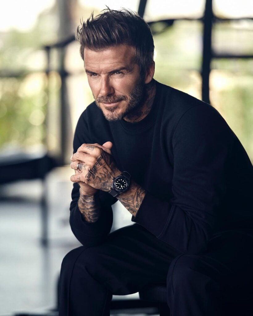 David Beckham Male Model
