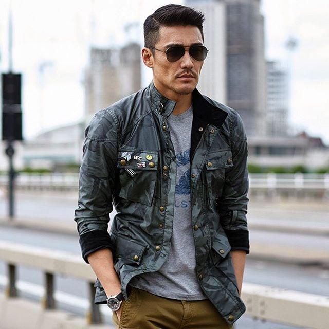 Male Model Hu Bing