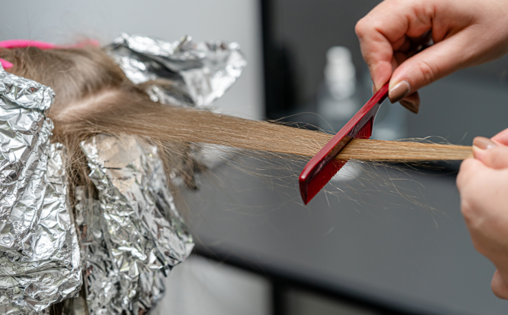 bleaching your hair is required to get a lighter hue.