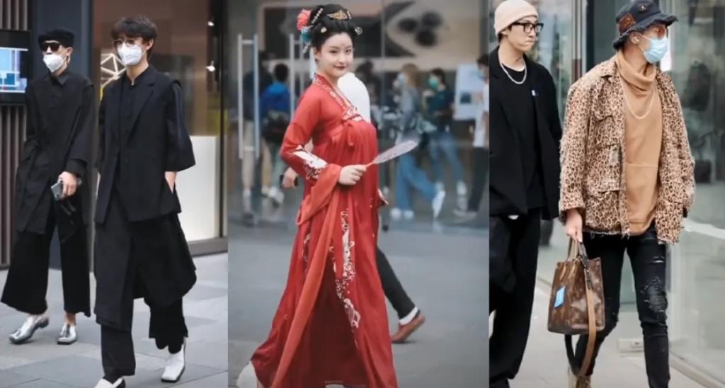 Chinese Street Fashion 2021