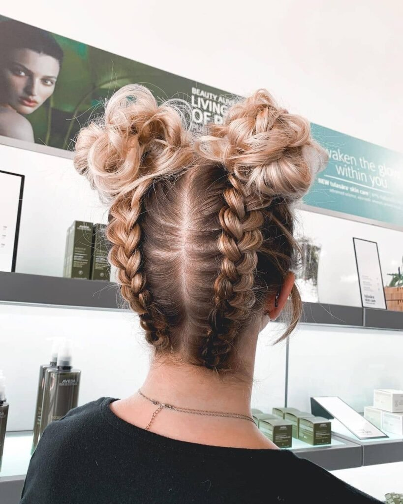 Chunky Fishtail Short Hairstyle