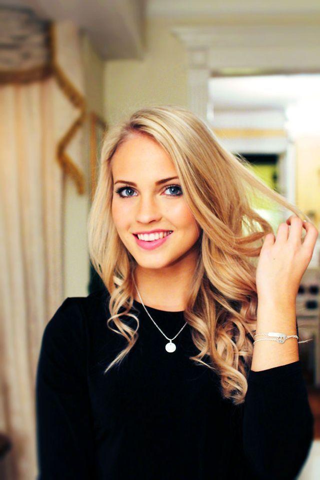 Emilie Nereng beautiful face model