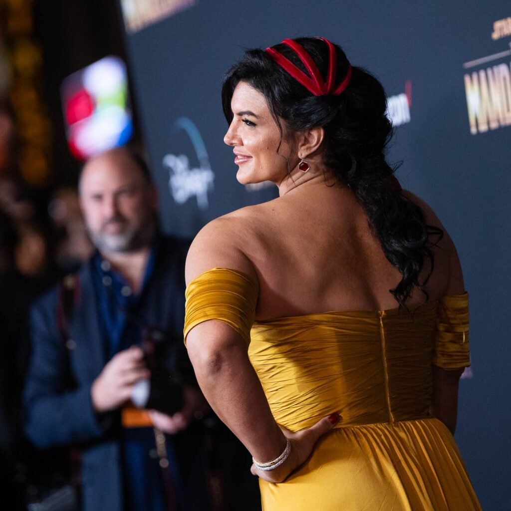 Gina Carano was concerned that she would appear in The Mandalorian as a big buff refrigerator