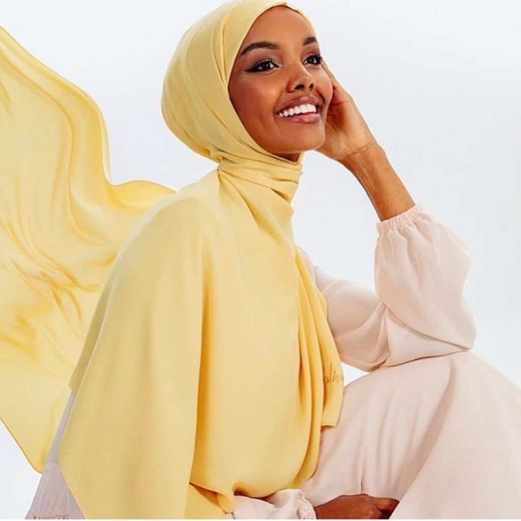Halima Aden Beautiful Face Model