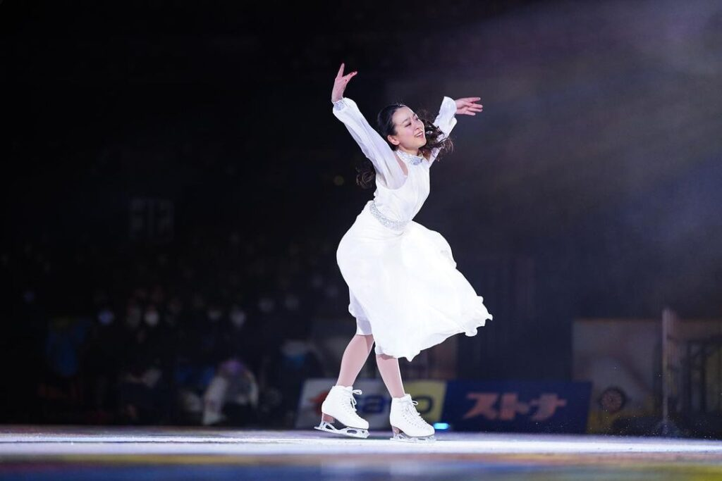Mao Asada is a three-time World champion and Olympic Silver medalist