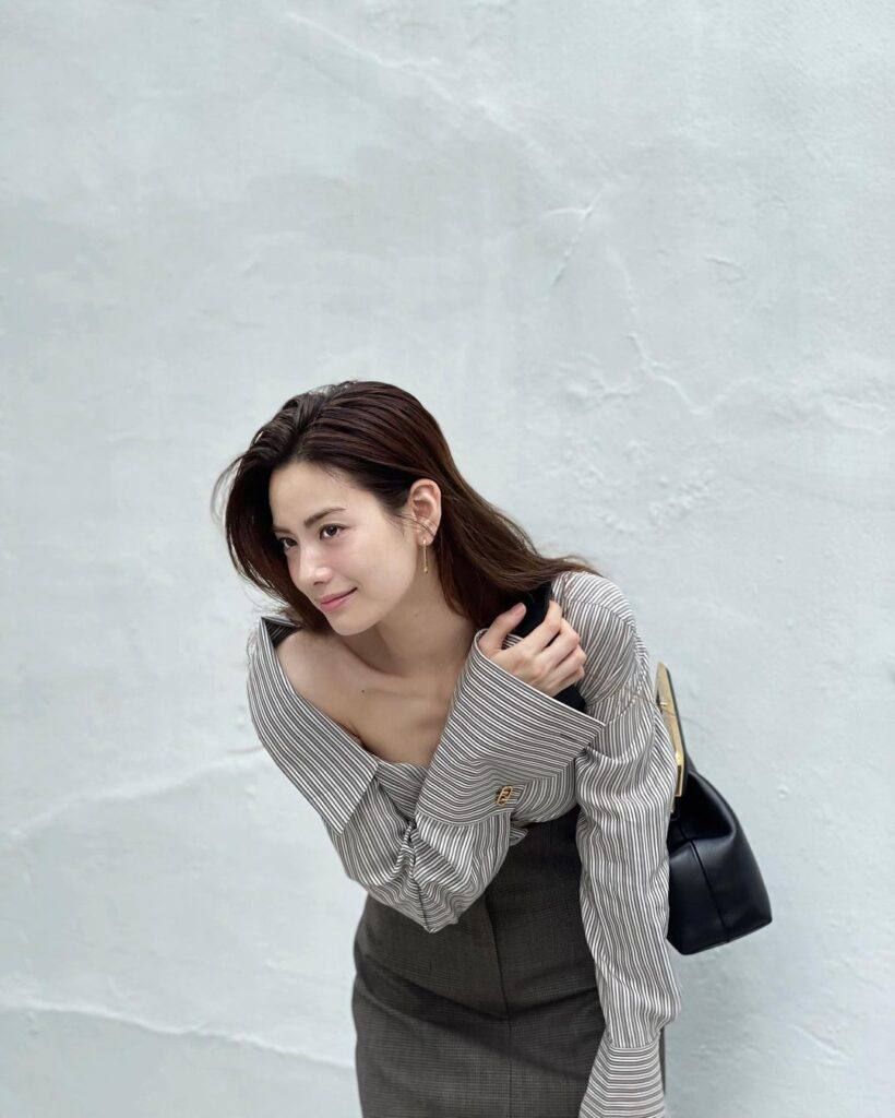 Nana South korean face model