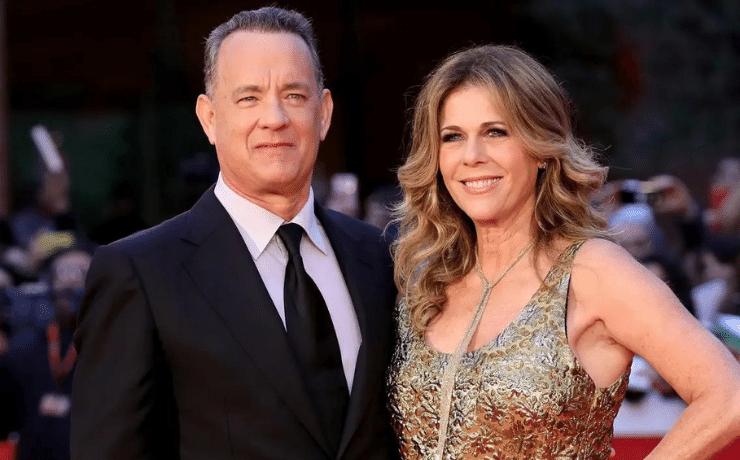 Samantha Lewes & Tom Hank
