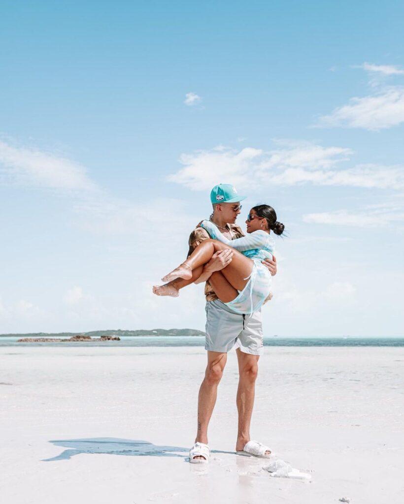Tyler Herro and Katya Elise Henry