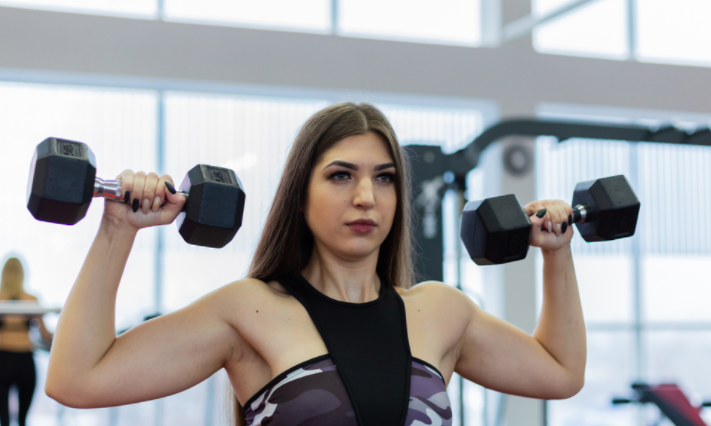 Weight Lifting to reduce flabby arms