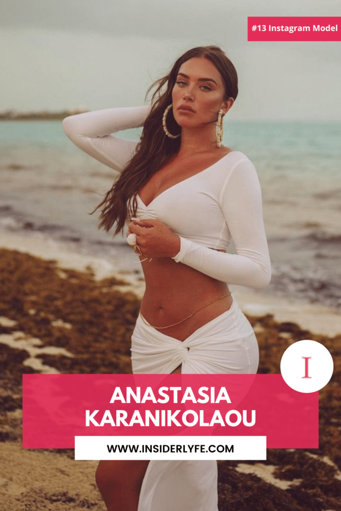 Anastasia Karanikolaou Instagram Beauty Queen