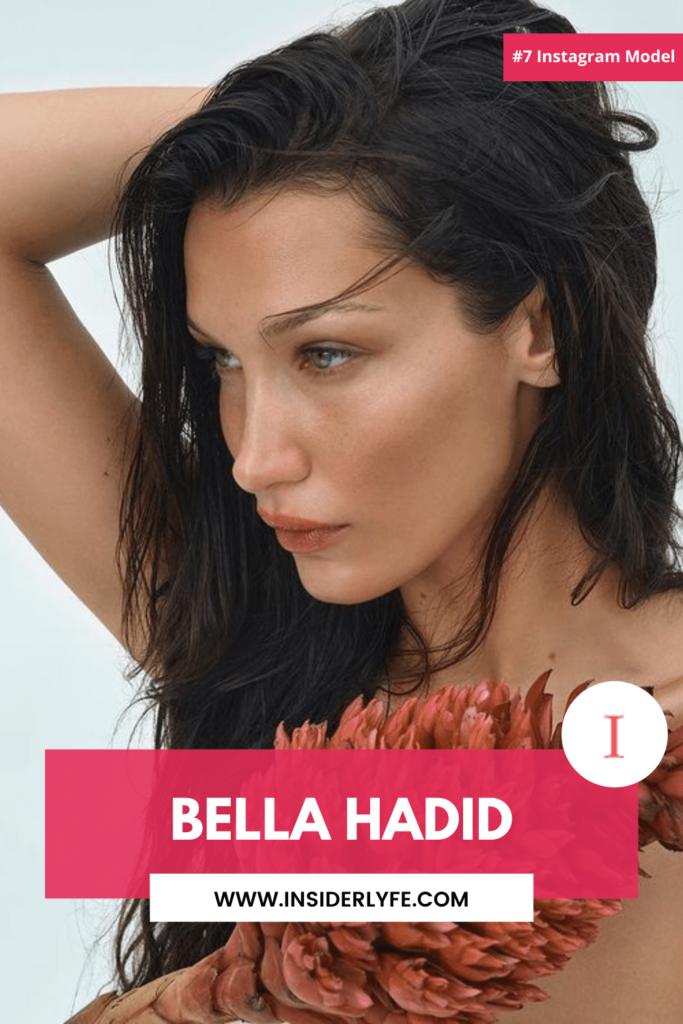 Bella Hadid is a social media star