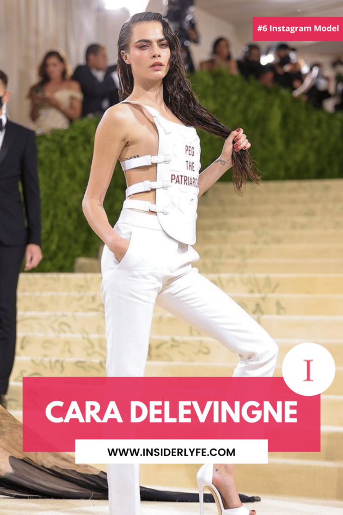 Cara Delevingne Being a successful actress and model