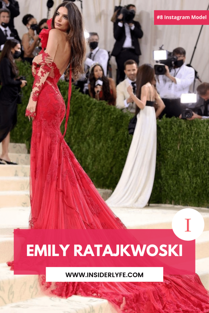 Emily Ratajkwoski Instagram Model 2021