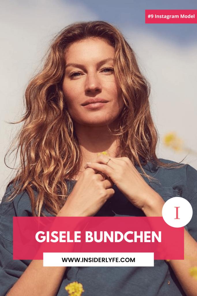 Gisele Bundchen 9th Best Instagram Model