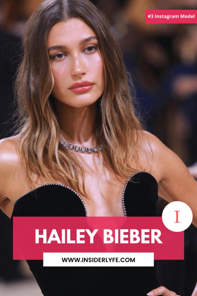 Hailey Bieber Instagram Model