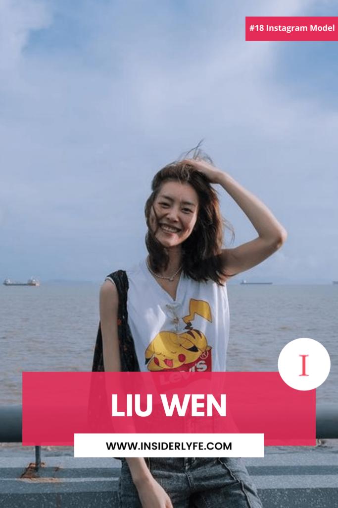 Liu Wen Instagram Model