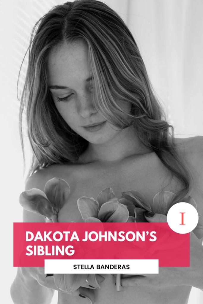 Dakota Johnson's Siblings, Stella Banderas